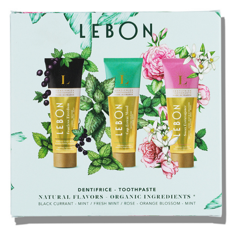 Coffret dentifrices Green Mood